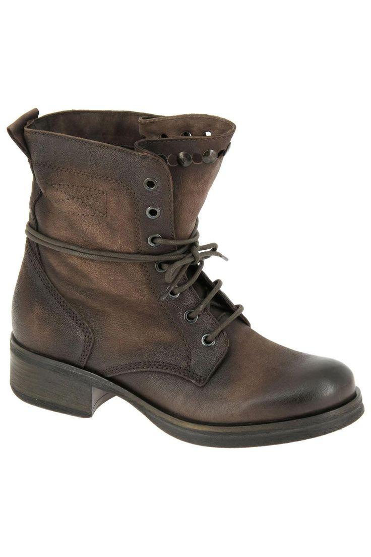 Bottines casual ykx marron 905005 252 252 chaussures femme ykx