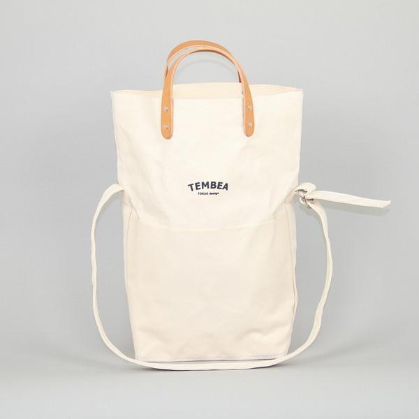 Messenger Bag in Natural Canvas