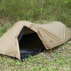 The right tent would be one that is lightweight, durable, and compact.  The higher the volume, the more materials, and heavier it will be to carry. Don't always assume you'll be tenting in the same place for long, or won't need to pack up in a hurry.  Take down should be quick and easy to do in a pinch.