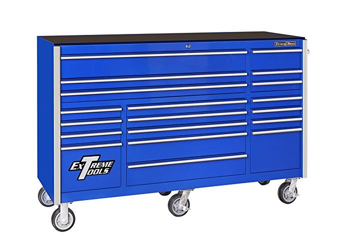 Extreme Tools Rx722519rcbl Rx Series 19 Drawer Roller Cabinet With