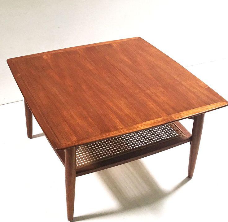 1960s Mid Century retro vintage Teak Coffee Table Danish Style, Parker era  in Home & - 25+ Best Ideas About Teak Coffee Table On Pinterest Scandinavian