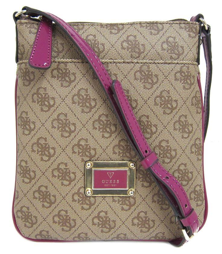 GUESS Reama Mini Cross-Body Bag, Amethyst: Handbags: Amazon.com