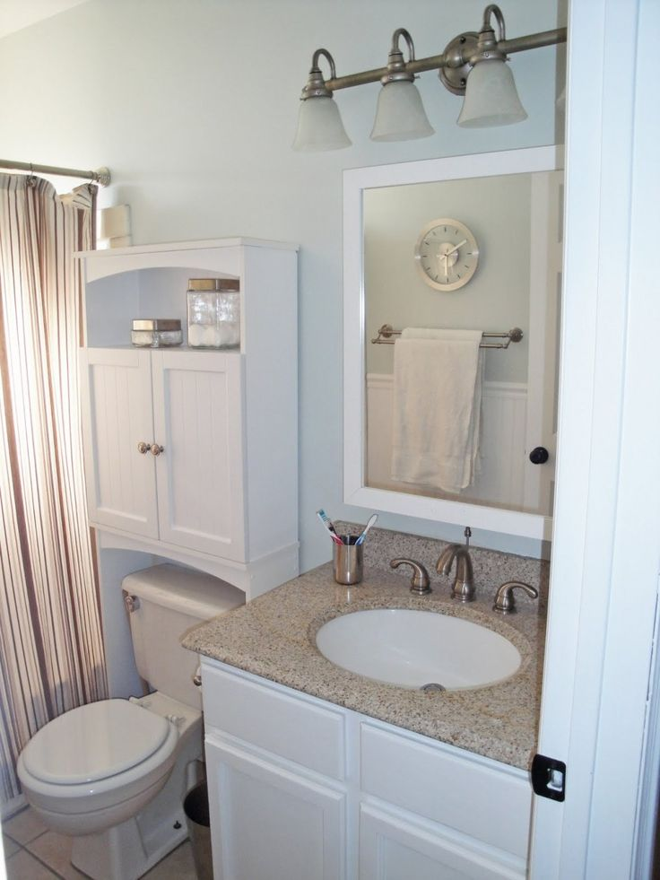 Bathroom Storage Cabinets Over Toilet