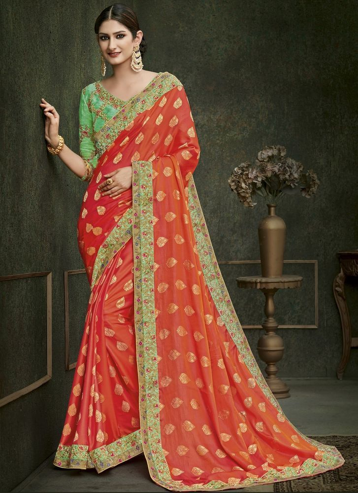 f17c15b6e07c Indian Designer Saree Sari Traditional Indian Bollywood Party Embroidered  #NA #Sari