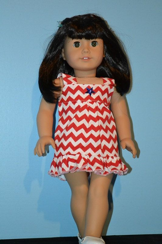 First Day of Summer Dress for American Girl-Fun by KittsDollKloset
