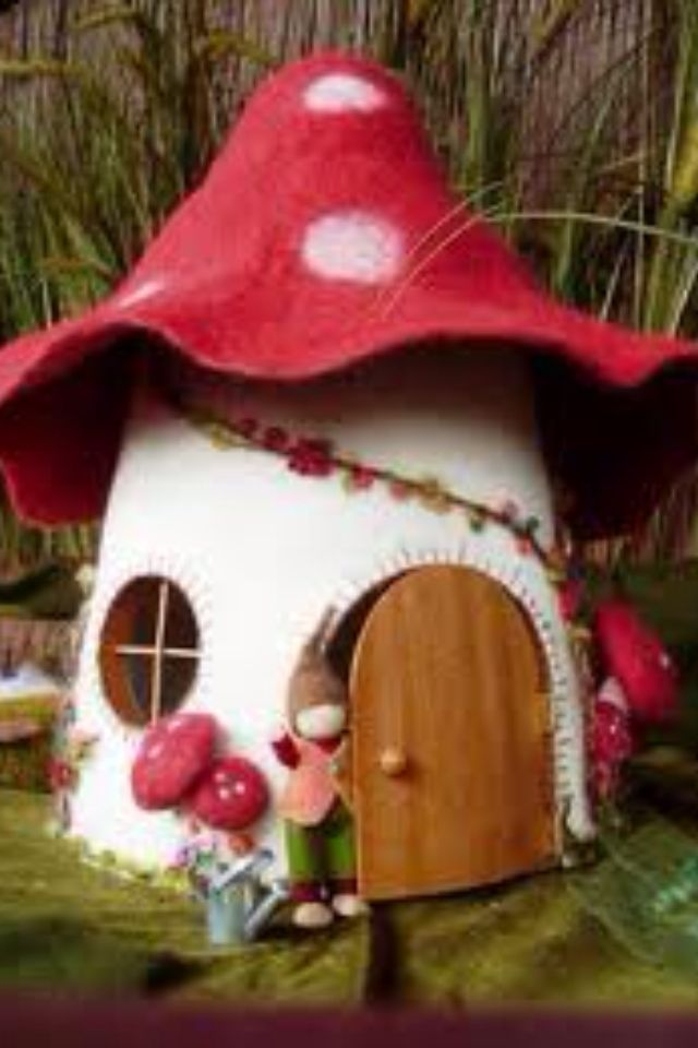 Mushroom House Design Philippines: Fairies And Gnomes