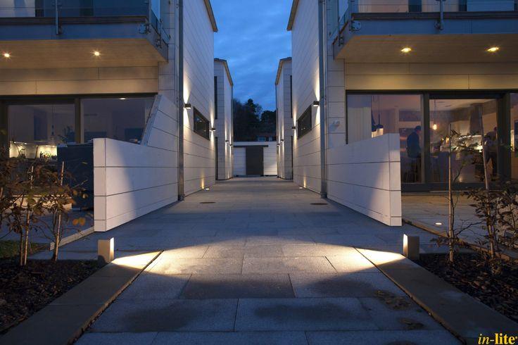 Buitenverlichting in Zweden   Staande lamp ACE   12V   Outdoor lighting   Buitenspot HYVE in overkapping   Aan het huis wandlamp ACE UP-DOWN 100-230V
