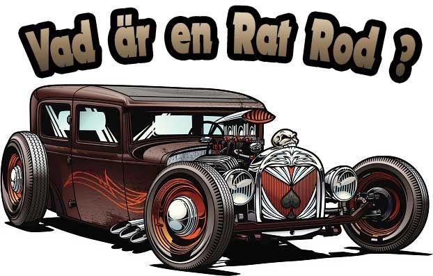 """Under det senaste årtiondet i hot rod världen har det funnit en mycket intressant trend känd för många som """" Rat Rods"""". De roddar som är byggda i detta sätt är allmänt kända för att vara mycket överdrivna versioner av 1950-talet bil stilar typ Jaloply hot rods.   #Hot Rod #rat rod #roddar"""