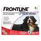 Merial Frontline Plus for Dogs, 88-132 Lb, 3 Pack