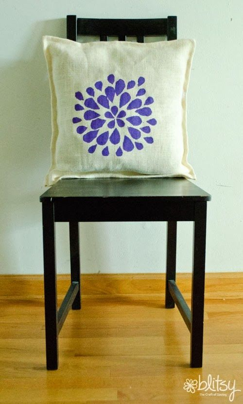 Are you still a flower fan, or do you have a new favorite pattern? Shop our online craft store at blitsy.com for your favorite stencil pattern!