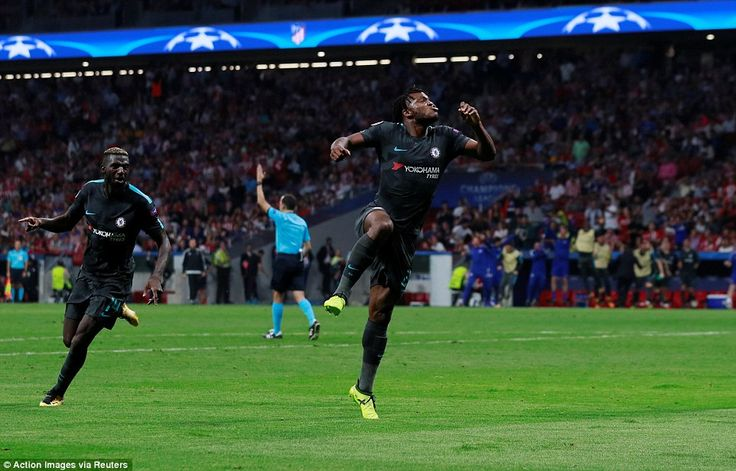 Michy Batshuayi scored a dramatic injury-time winner to secure Chelsea a deserved 2-1 victory away at Atletico Madrid