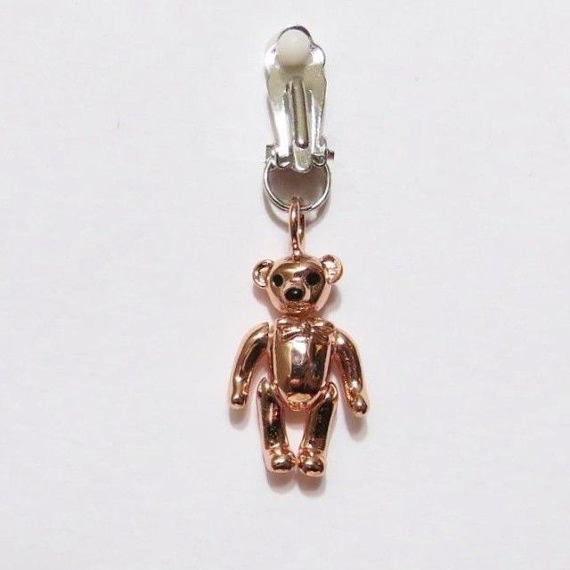 Clit Clip My Little Secret Teddy Bear Charm From Under The Hoode Charms Bears And Products