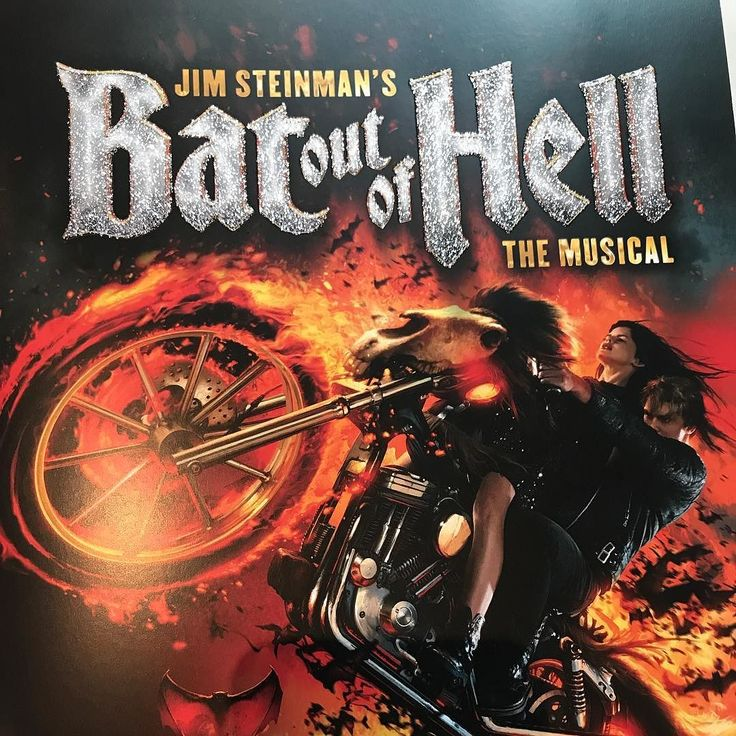 #London #londoncoliseum #batoutofhell #booh #theatre #singalong #musical #meatloaf