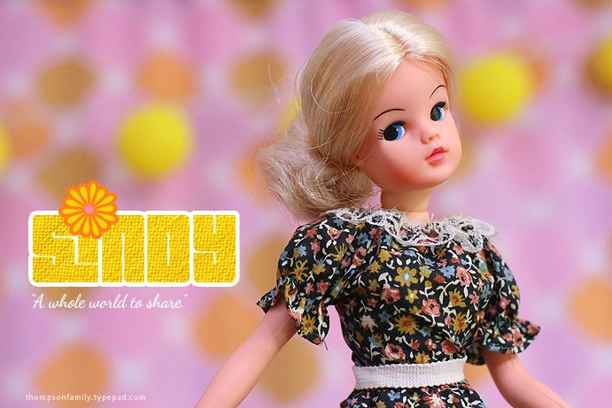 All about Sindy the vintage doll on the blog.