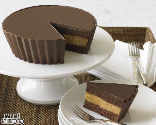 Megga Reese's cake. Brilliant!