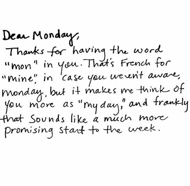 25+ Best Monday Quotes On Pinterest