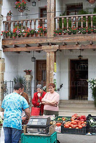 Mercado. Arbizu, Navarra  Spain