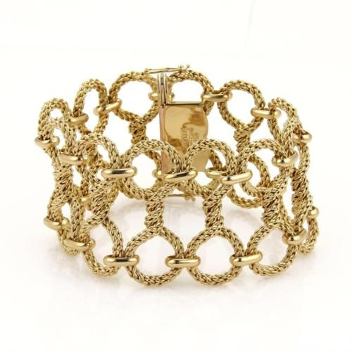 387 best Gold Mesh Bracelets images on Pinterest Belt Crafts and