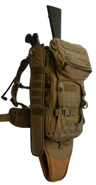 I love the 'streamlined' design of this bug out bag. Looks very efficient, durable, and just right for the job.