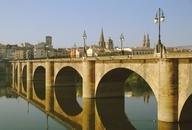 #Logroño como en el Pont Neuf. La #Rioja