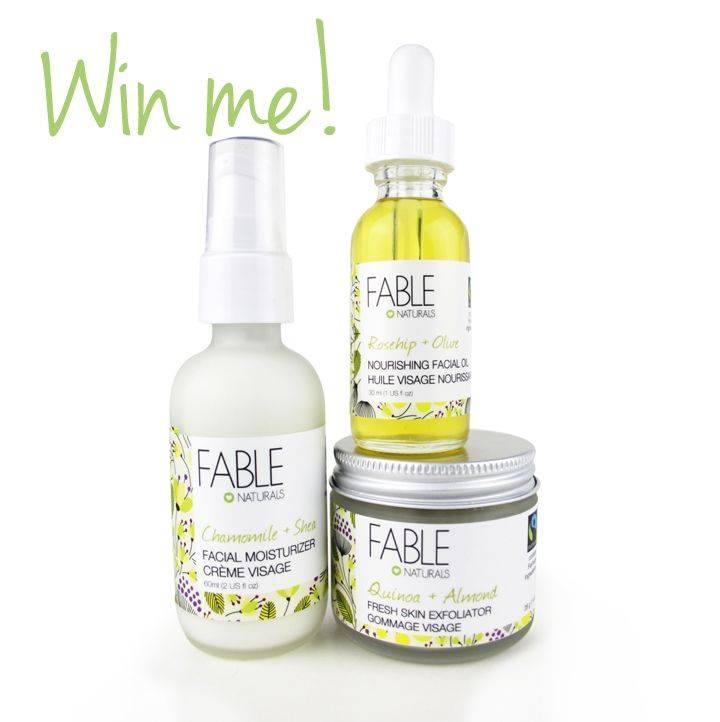 Fable Naturals Holiday Skin Care Giveaway
