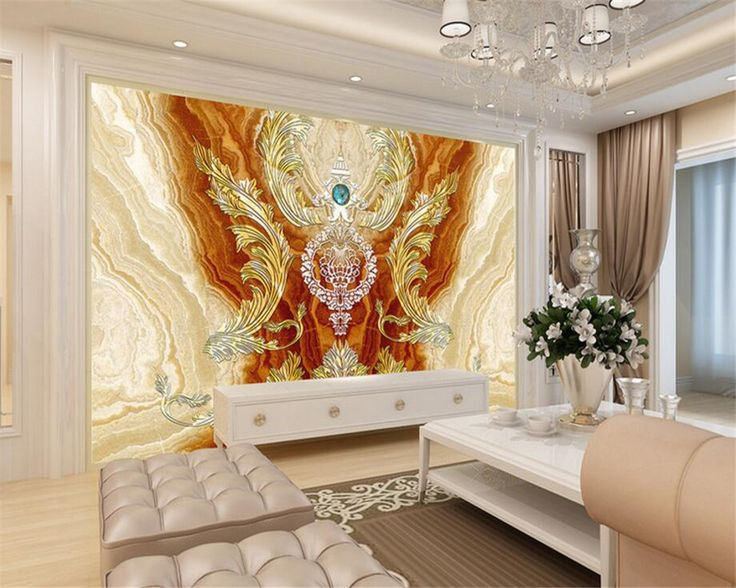 Beibehang 3d Wallpaper Decorative Painting Royal House Flyer Living Room Tv Mural Marble Backdrop Wall Wallpaper For Walls 3 D Af Living Room Tv Tv Room House