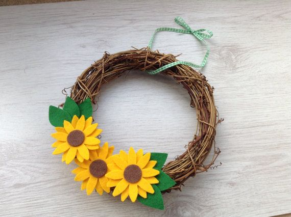 Bright Sunflowers by Didi Lou on Etsy