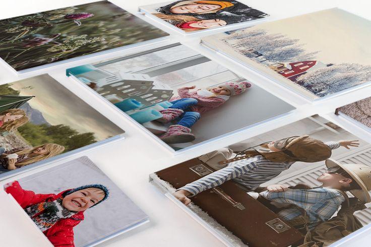 fotoalbum i ulike format