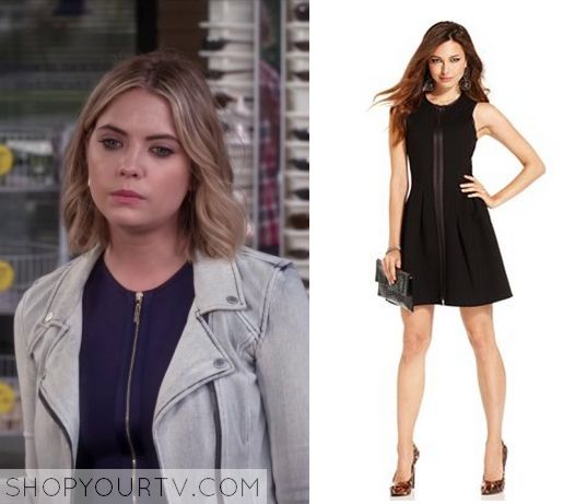 Pretty Little Liars: Season 6 Episode 9 Hanna's Zipper Front Dress