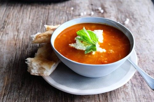 A gorgeous and all-natural Turkish soup made with lots of healthy ingredients like red lentils. The best!