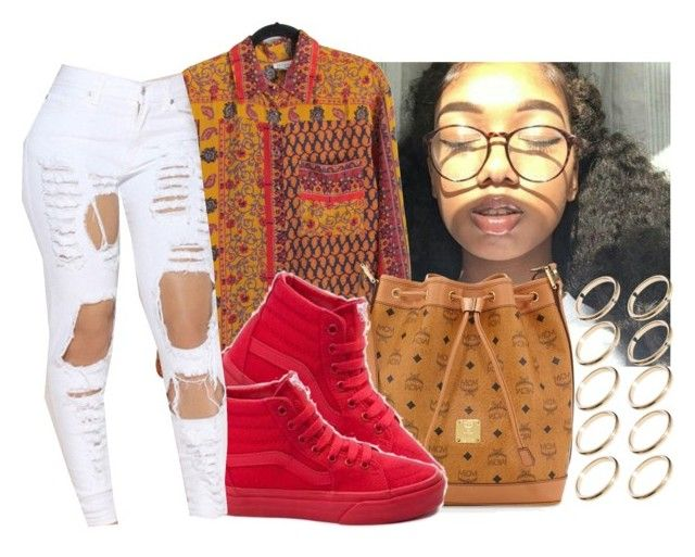 """"""""""" by eazybreezy305 on Polyvore featuring MCM, Vans, ASOS, cute, simpleoutfit, Trendy and 2016"""