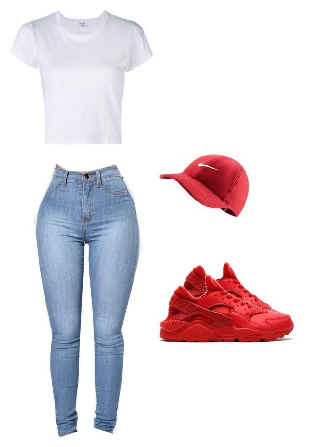 """""""Untitled #508"""" by tdgaaf on Polyvore featuring NIKE and RE/DONE"""