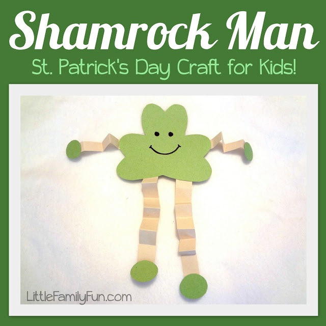 St Patricks Day Crafts: Cute St. Patricks Day Craft For Kids!