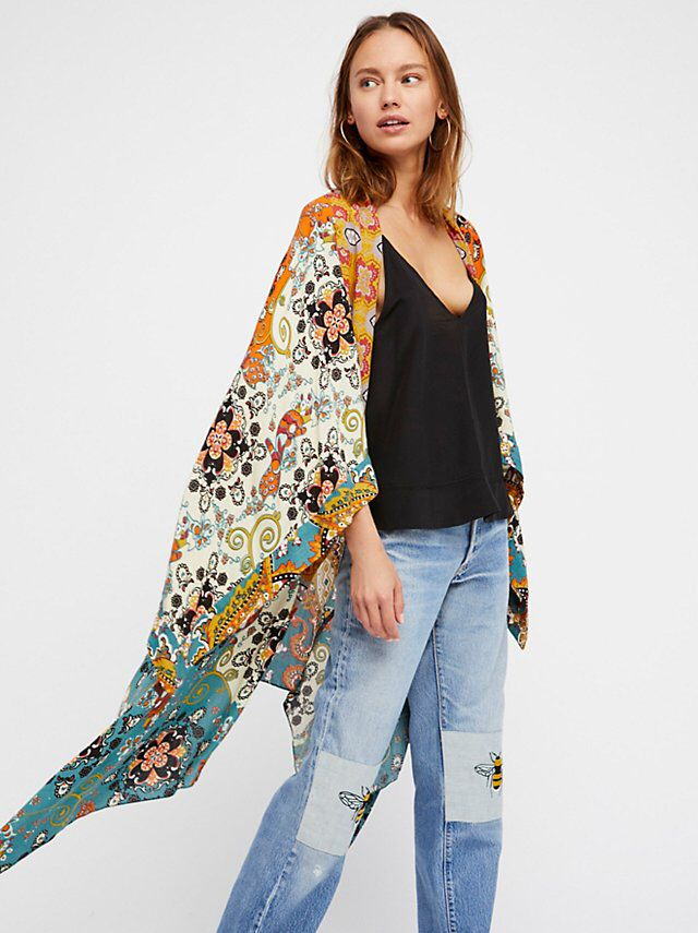 73685252777 Little Wing Mix Print Kimono from Free People!