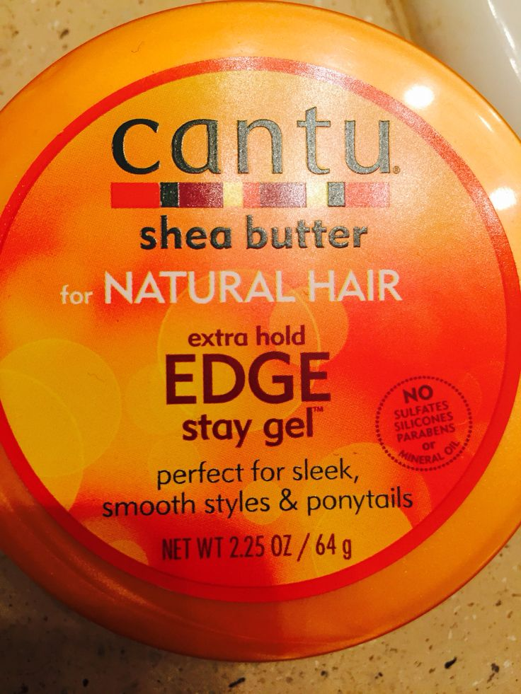 Best edge control natural hair. It smells AMAZING and puts those edges (we know how rough they can be) in their place. I love Cantu products and this was a great find!