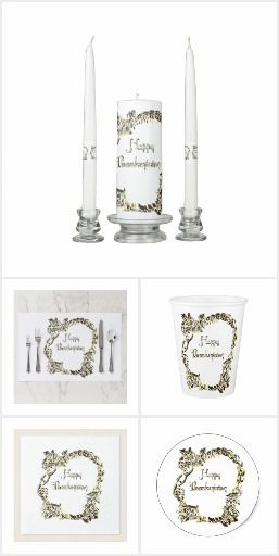Thanksgiving Dinner Party Gold White #thanksgiving #dinnerparty