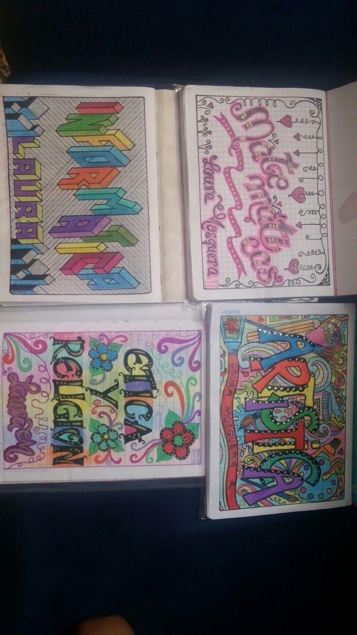portadas de cuadernos para el regreso de clase
