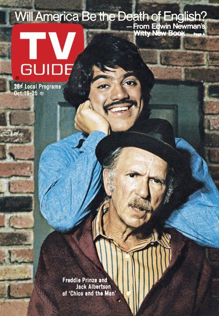Chico and the Man....Freddie, why'd you do it?  I still don't understand.  When I look at you, there is nothing but sadness at the waste of it all.  What should have been.