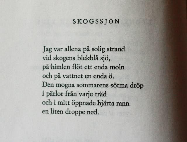Edith Södergran dikt