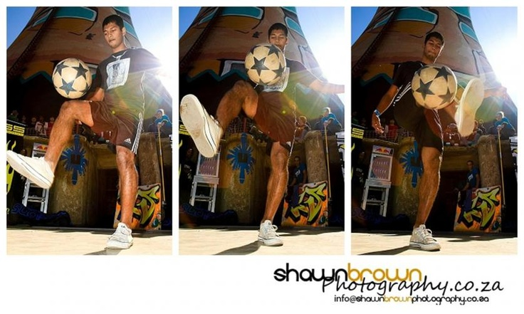 """""""SuperSyed"""" - Freestyle Soccer - Urban Sessions – Street Culture at Orlando Towers, Soweto"""