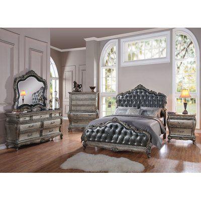 Astoria Grand Rory Upholstered Panel Configurable Bedroom Set Furniture Bedroom Set Bedroom Furniture Sets