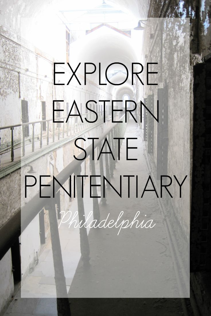 Spend the morning exploring Eastern State Penitentiary - an abandoned prison in Philadelphia that once housed notorious gangster Al Capone