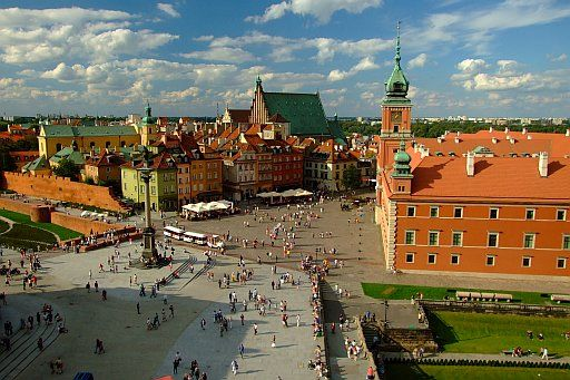 The Old Town in Warsaw.  Find out more about PO Kingdom of Poland Tour itinerary: http://polishorigins.com/document/kingdom_tour
