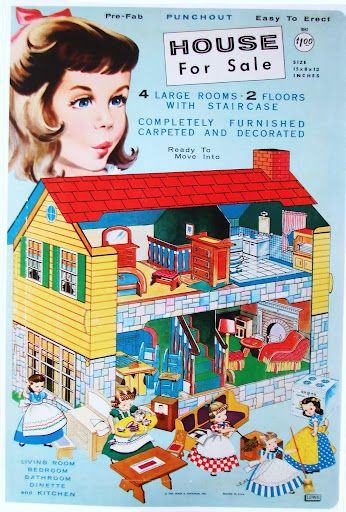 Paper Dolls~House For Sale - Bonnie Jones - Picasa Web Albums - everything for the dolls house