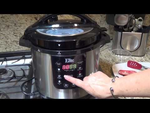 Mushroom Chicken in the Elite pressure cooker by Magdi