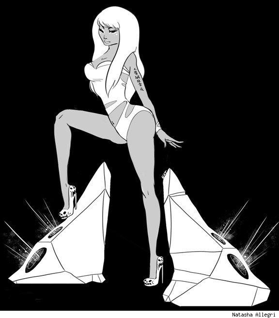 Niki Minaj by Natasha Allegri