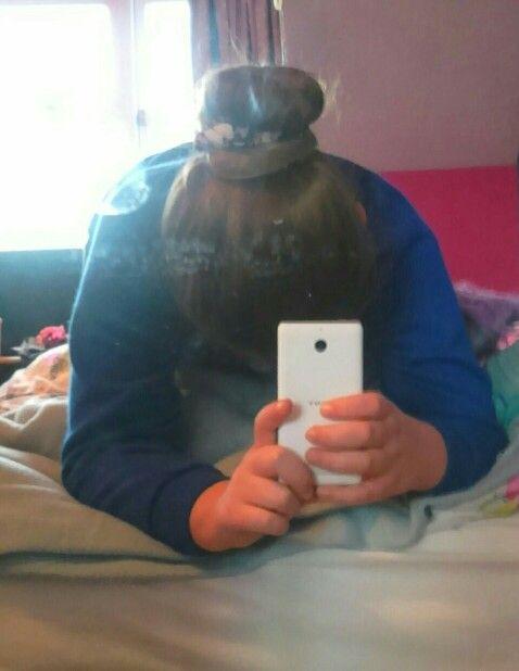 #cute hair bun