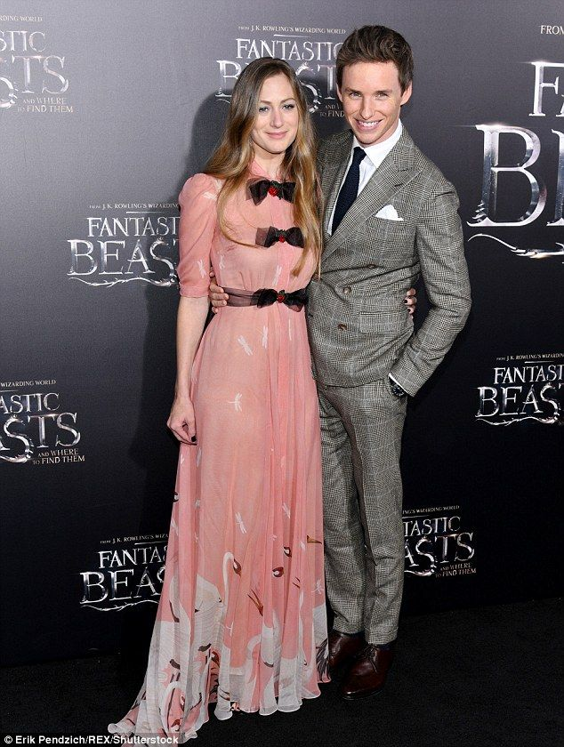 Happy couple: The Eton-educated star tied the knot with wife Hannah Bagshawe, 33, (picture...