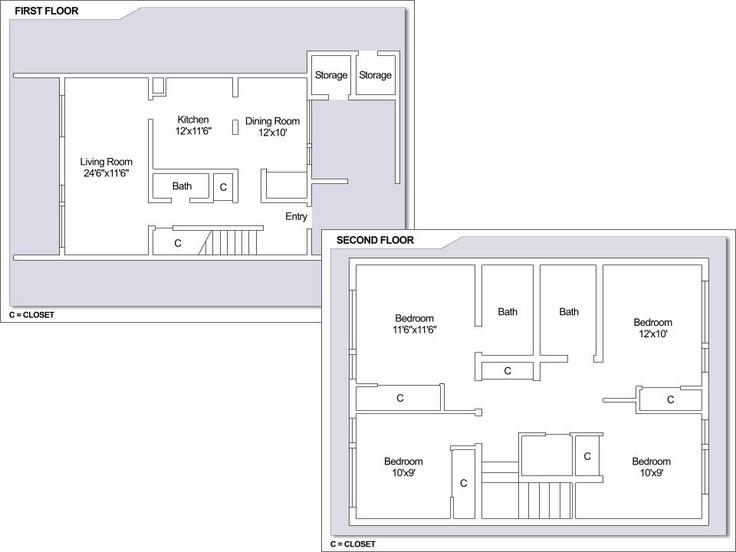 Cfa Sasebo Hario Village Townhomes 4 Bedroom Floor Plan Type B Cfa Sasebo Japan