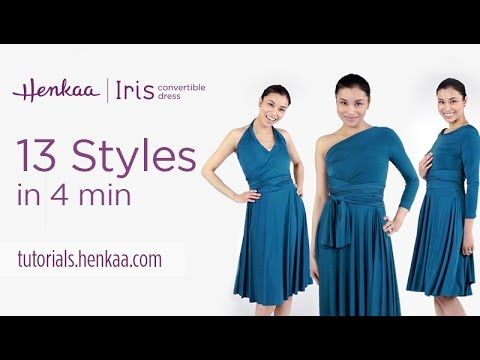 13 Ways to Wear the Iris Convertible Dress - YouTube